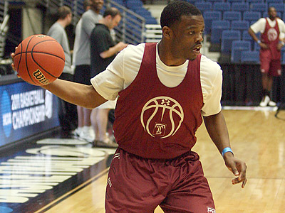 Scootie Randall scored a game-high 31 points in Temple´s win at Kent State. (Yong Kim/Staff file photo