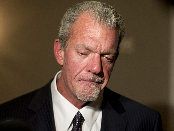 Indianapolis Colts owner Jim Irsay. (Carolyn Kaster/AP file photo)