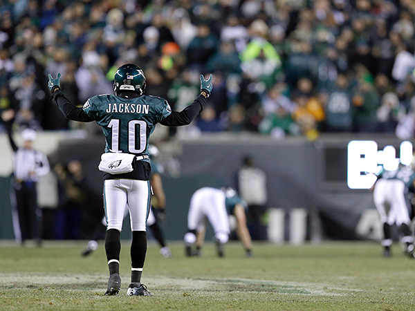 Eagles´ receiver DeSean Jackson. (AP Photo/Julio Cortez)