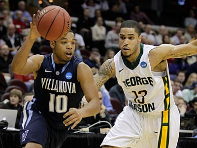 Corey Fisher scored a game-high 20 points but it wasn´t enough for ´Nova against George Mason. (Amy Sancetta/AP Photo)