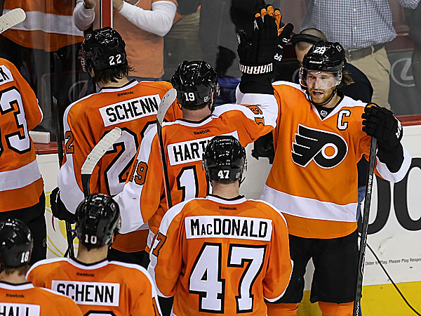 Flyers captain Claude Giroux. (Steven M. Falk/Staff Photographer)