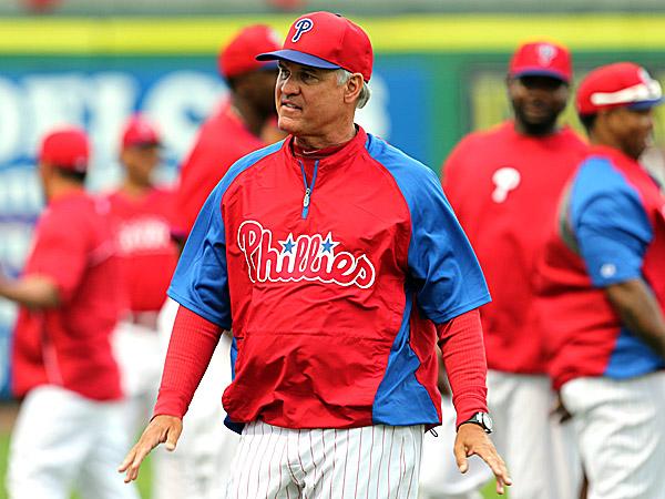 Phillies manager Ryne Sandberg. (Yong Kim/Staff Photographer)