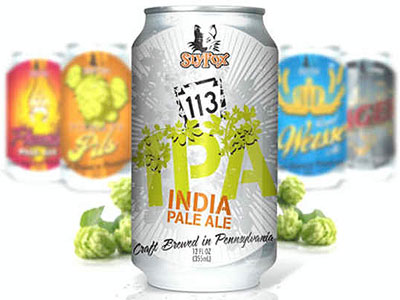 A canned version of Rt. 113 India Pale Ale will be out next month.
