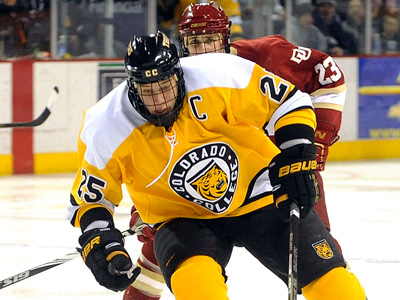 The Flyers have signed Colorado College´s Mike Testwuide at close to the maximum NHL Entry Level contract for top draft picks. (AP Photo / Bryan Oller)