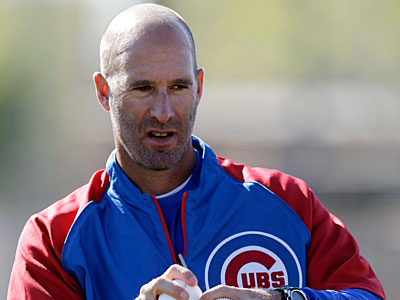 """His stuff was obviously good enough to give it a shot and give it a look,"" Cubs manager Dale Sveum said of Lendy Castillo. (Morry Gash/AP)"