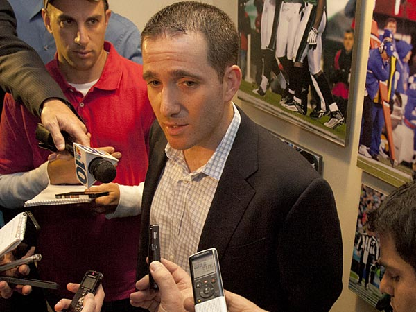 Eagles general manager Howie Roseman. (Ed Hille/Staff Photographer)
