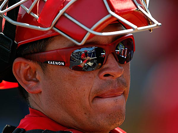 Phillies catcher Carlos Ruiz. (Staff Photo)