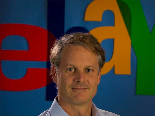 EBay Inc. CEO John Donahoe. (File photo)