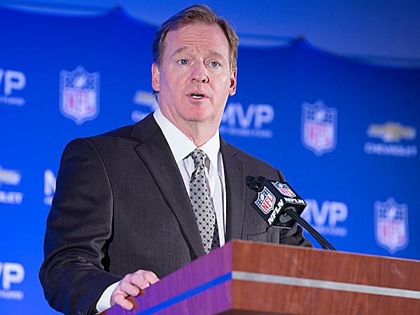 National Football League Commissioner Roger Goodell. (John Minchillo/AP)