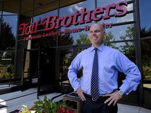 Doug Yearly, CEO of Toll Brothers (Photo: Bloomberg)