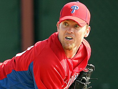 Brad Lidge feels good and hopes to return to game action on Tuesday. (Yong Kim/Staff File Photo)