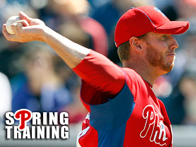 Roy Halladay will start at the mound for the Phillies. (Yong Kim/Staff Photographer)