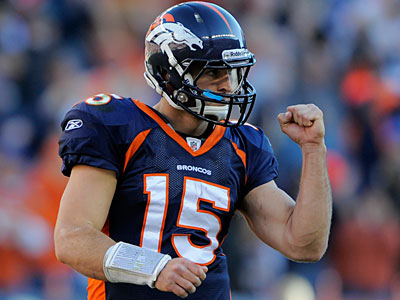 With the Broncos finalizing a deal with Peyton Manning, Tim Tebow is likely on the trading block. (Jack Dempsey/AP Photo)
