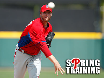 Phillies ace Roy Halladay turns 35 in May. (David Maialetti / Staff Photographer)