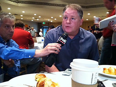Eagles´ coach Chip Kelly. (Photo by Les Bowen)