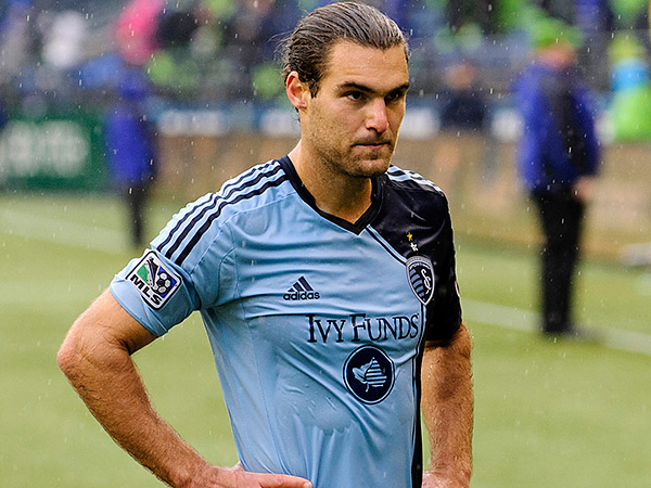 Sporting Kansas City´s Graham Zusi. (Steven Bisig/USA Today Sports file photo)