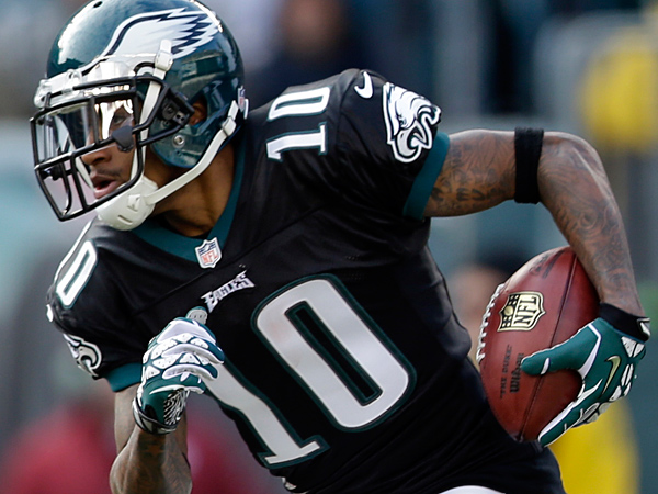 Philadelphia Eagles´ DeSean Jackson. (AP Photo/Matt Rourke)