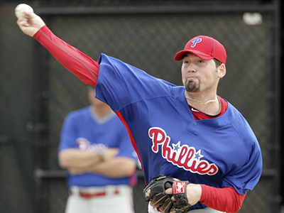 Reliever David Herndon, selected in the Rule 5 draft, continues to impress the Phillies´ coaching staff this spring. (Yong Kim / Staff Photographer)