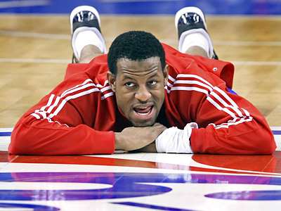 Andre Iguodala and the Sixers are 25-47 this season. (Steven M. Falk / Staff Photographer )