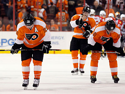 The Flyers´ offense has scored on two of its last 19 power play chances. (Yong Kim / Staff Photographer)