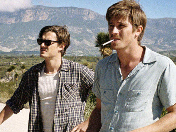 "Sam Riley (left) plays Sal Paradise, Jack Kerouac´s alter ego, and Garrett Hedlund plays his sidekick, Dean Moriarty (alias Neal Cassady) in""On the Road."""