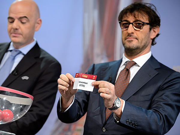 Juventus was the team everyone wanted to avoid in Friday&acute;s draw, with Antonio Conte&acute;s side currently 14 points clear in Serie A and likely to retain its Italian title with some ease. (Laurent Gillieron/Keystone/AP)<br />