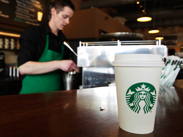 Can I get a double shot of Bailey´s with my venti, please? (AP Photo / Ted S. Warren, File)