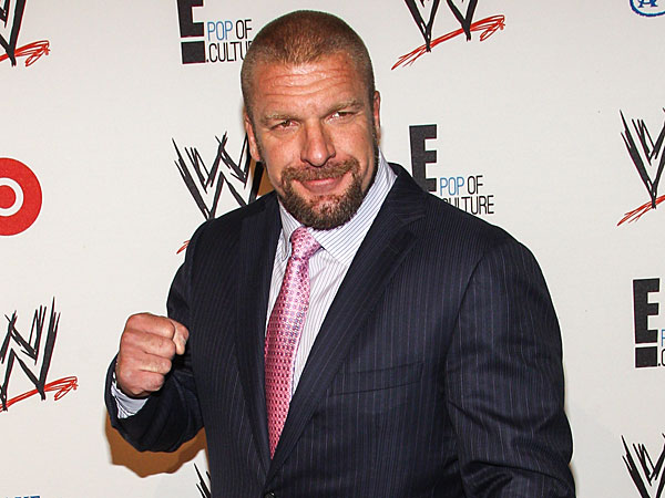 Triple H. (Photo by Paul A. Hebert/Invision/AP)