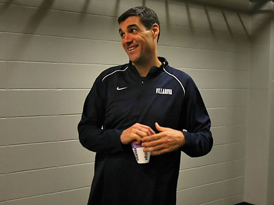 """We're really excited about the chemistry of this staff,"" Villanova coach Jay Wright said. (Ron Cortes/Staff file photo)"