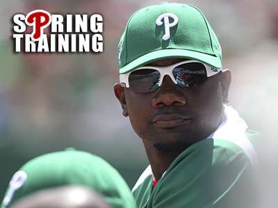Ryan Howard is making slow progress after suffering a setback in his Achilles rehab. (David M Warren / Staff Photographer)