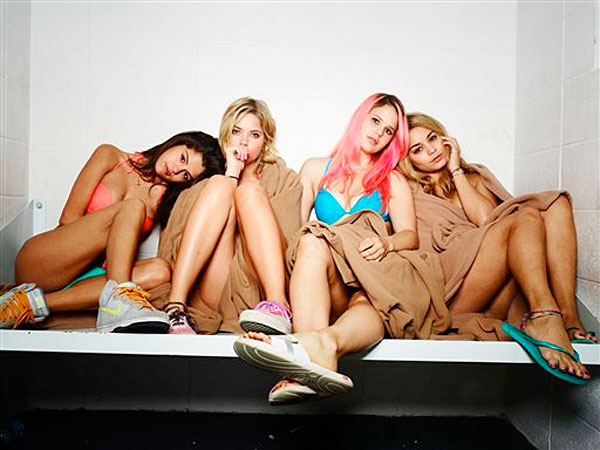 Spring Breakers is the 2013 tale from shock-jock director Harmony Korine. Vanessa Hudgens (High School Musical), Ashley Benson (Pretty Little Liars), Selena Gomez (Wizards of Waverly Place), and Korine´s wife, Rachel, star as four college coeds hellbent on making it to Florida for, you guessed it, spring break.