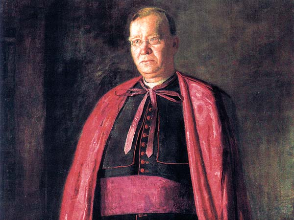 """The Right Reverend James F. Loughlin"" (1902), by Thomas Eakins, to be sold by St. Charles Borromeo."