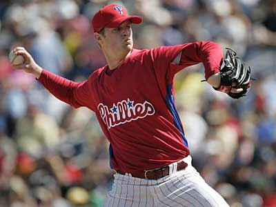 The Phillies informed Kyle Kendrick Monday morning that they were sending him down to the minors. (Jerry Lodriguss / File photo)