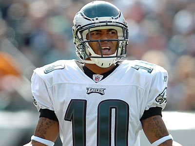 """""""It´s almost kind of a relief to know what we have here,"""" DeSean Jackson said about the deal. (Clem Murray/Staff file photo)"""
