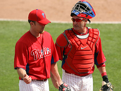 Closer Brad Lidge is the newest Phillie that will land on the DL. (Yong Kim/Staff file photo)