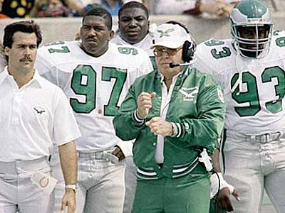 Buddy Ryan was the Eagles coach from 1986-90. (AP File Photo)