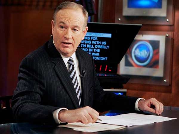 "In this Jan. 18, 2007 file photo, Fox News commentator Bill O´Reilly appears on the Fox News show, ""The O´Reilly Factor,""  in New York. (AP Photo/Jeff Christensen, file)"