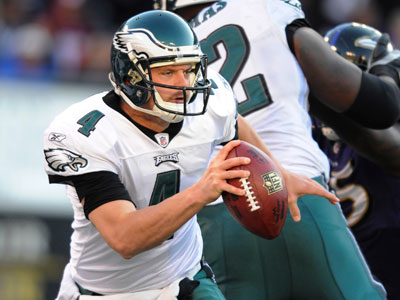 Will the Eagles trade Kevin Kolb this offseason? (AP Photo/Gail Burton)