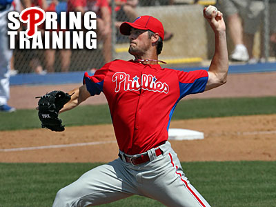 Cole Hamels will get the start against the Red Sox today at JetBlue Park. (David M Warren/Staff Photographer)