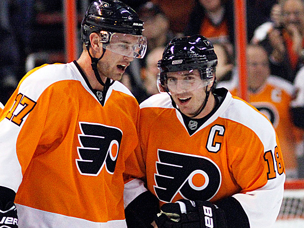 Flyers since the Carter, Richards trades