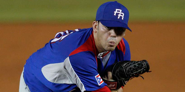 Pitcher Julio Rodriguez was a Florida State League All-Star last year, and pitched for Puerto Rico at the Baseball World Cup. (Andres Leighton/AP file photo)
