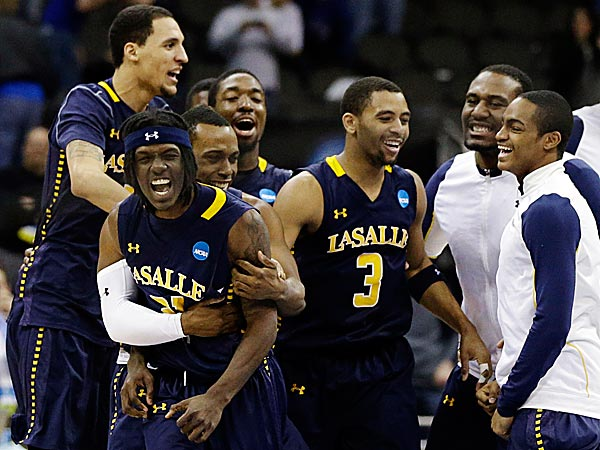 La Salle would appreciate it if you didn´t characterize them as bracket busters. (Orlin Wagner/AP)