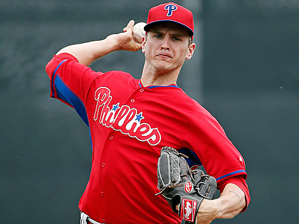 Phillies starting pitcher David Buchanan. (Kathy Willens/AP)