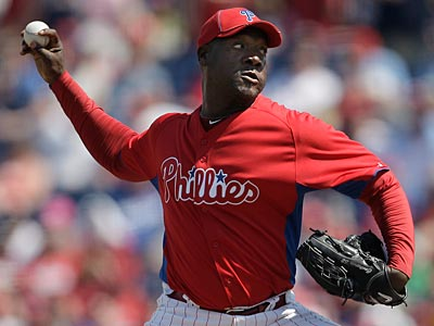 Jose Contreras could close for the Phillies while Brad Lidge is on the disabled list. (David Maialetti/Staff Photographer)