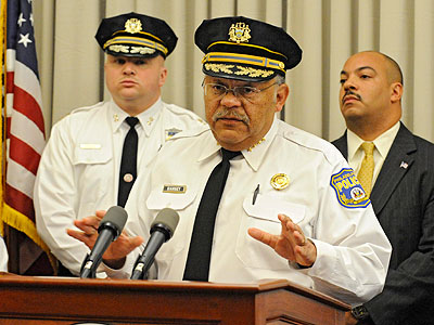 Will Philadelphia Police Commissioner Charles Ramsey leave to lead Chicago´s police force, and if he does, who would replace him?. (Clem Murray / Staff Photographer)