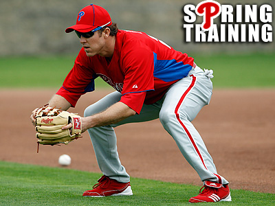 Chase Utley has played competitive baseball for just five of the last 17 months. (Yong Kim/Staff file photo)