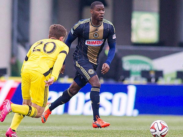 Maurice Edu is one of the Union´s two Designated Players. (Trevor Ruszkowski/USA Today Sports)