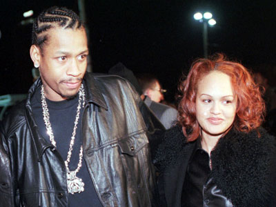 Allen Iverson and his ex-wife Tawanna.