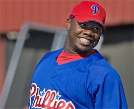 The Inquirer's Countdown to Opening Day continues with a look at Phillies first baseman Ryan Howard.