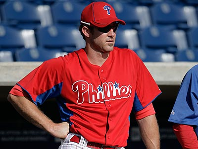 Charlie Manuel indicated that Chase Utley could begin rehabbing in Clearwater soon. (David Maialetti/Staff file photo)